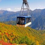 立山・黒部アルペンルート立山連峰、黒部ダムなどの景勝地を巡る国際的にも人気のコース